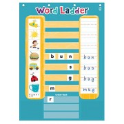 Educational Insights Word Ladder Phonics Activity Center MultiColor (1746)
