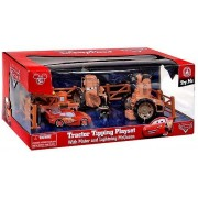 Mattel Disney Parks CARS LAND Tractor Tipping Playset with Mater and Lighting McQueen - Disney Park Exclusi