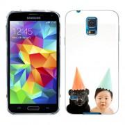 Husa Samsung Galaxy S5 Mini G800F Silicon Gel Tpu Model Bebelus Si Caine Petrecere