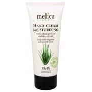 Melica Cremă de mâini hidratantă cu extract de ulei de germeni de grau si Aloe Vera 100 ml