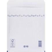 Légpárnás (buborékos) Boríték, Tasak E/15 - fehér - (100db)