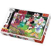 Puzzle Minnie uda florile, 160 piese