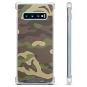 Samsung Galaxy S10 Hybride Case - Camouflage