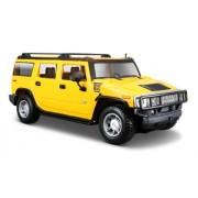 Maisto 1:27 2003 Hummer H2 SUV, Yellow