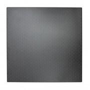 Werzalit plus Werzalit Square 600mm Table Top Black Rattan