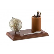 Leather Business Desk by Zoffoli, Made in Italy