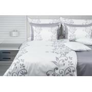 1 Glamonde Jemná elegance Maia bílá/šedá 70×90 cm 140×220 cm zipové