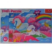 Puzzle Trefl, Unicorni, 160 piese