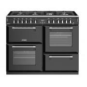 Stoves Richmond S1100DF Black 110cm Dual Fuel Range Cooker