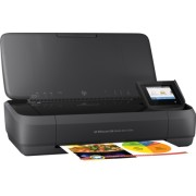 HP Officejet 252 Mobile All-in-One Printer, N4L16C, print, scan, copy, ADF, tintni, color, A4, USB, WL, Bluetooth, 2-bojni, crna, 12mj