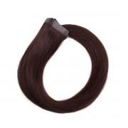 Rapunzel® Hair extensions Quick & Easy Original Glatt 2.0 Dark Brown 50 cm