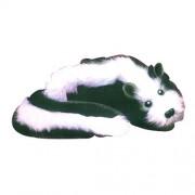 Sweet Pea the Happy Skunk - Magic Spring Animal