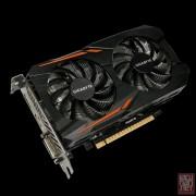 Gigabyte GV-N105TOC-4GD, GeForce GTX 1050 Ti, 4GB/128bit GDDR5, DVI/HDMI/DP, WINDFORCE 2X Cooling