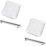 Prestige ABS Shower Head 4x4 with 9 inches Square Arm (Pack of 2)