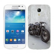 Husa Samsung Galaxy S4 Mini i9190 i9195 Silicon Gel Tpu Model Motocicleta Vintage