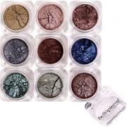 Bellápierre Cosmetics Make-up Eyes 9 Stack Shimmer Powder Fabulous 15,75 g