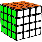 JGG Stickerless 4X4 High Speed Magic Rubik Cube Puzzle Toy