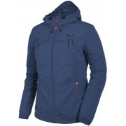 Salewa Fanes Melange Ptx 2L - giacca a vento trekking - donna - Dark Blue
