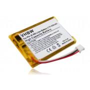 vhbw Li-Ion Batterie 430mAh (3.6V) pour Alcatel Versatis Slim 300 remplace 5-2762, 5-2770, SL-422943.