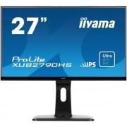 "Monitor IPS iiyama 27"" ProLite XUB2790HS, Full HD, HDMI, DVI-D, 5ms, Boxe (Negru)"