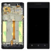Дисплей за Huawei Ascend P1 + тъч скрийн Черен