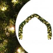 vidaXL Коледен гирлянд с LED лампички, 10 м