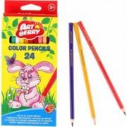 Set 24 creioane colorate hexagonale ErichKrause 3 ani+ Multicolor
