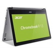 Acer Chromebook R 13 CB5-132T-C732 Convertibele notebook, 29,5 cm (11,6 inch) HD, Intel Dual-Core N3150, Google Chrome OS, zilver