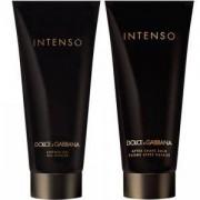 Комплект за мъже Dolce & Gabbana Intenso, Афтършейв 100 мл., Душ Гел 100 мл., В подаръчна кутия, 730870181898