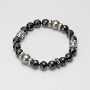 Genuine Stone オニキス ブレス(レディース)