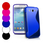 Samsung Galaxy Mega 5.8 I9150 Силиконов Калъф + Протектор