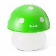Umidificator Duux Mushroom Verde, Rata umidificare 220 ml/ora, Consum 20W/h, Debit aer 30 mc/h, Veioza, Pentru 15mp