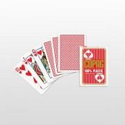 Copag Regular Face Poker Karte 100% plastične - Crvene ( 104001335 )