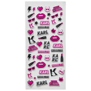 Karl Lagerfeld + ModelCo Limited Edition Puffer Stickers Make up Accessoires