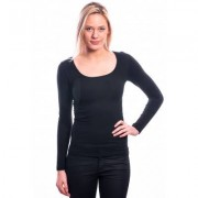 Ten Cate Women Longsleeves Shirt (30200) Black - Zwart - Size: Extra Large
