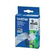 Brother HG-221 Alta qualidade fita 9mm texto preto sobre branco (8m)