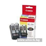 CANON BC-21E Black, Color and Printhead InkJet