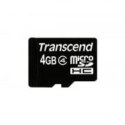 Card Transcend microSDHC 4GB Clasa 4