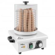 vidaXL rozsdamentes acél hot-dog melegítő 450 W