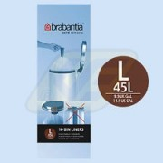 Brabantia szemeteszsák 45l 10 db, L