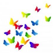 xyz Naklejka Motyl tło, charakter, lato, szczęśliwy, wektor