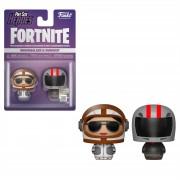 Pint Size Heroes Fortnite - Moonwalker e Burnout 2-Pack Figure Pint Size Heroes