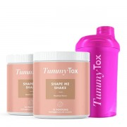 TummyTox 2 x Shape me Shake + Shaker GRATIS