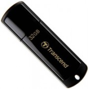 Transcend Jetflash350 32 GB Pen Drive(Black)