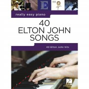 Hal Leonard Really Easy Piano: 40 Elton John Songs