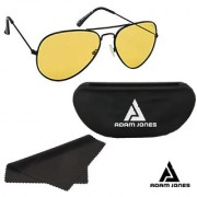Adam Jones HD Night Vision Day Night Unisex Aviator Sunglasses
