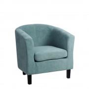 Fotoliu design modern Alek albastru
