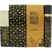 Alyssa Ashley Musk Limited Edition Gift Set 50ml EDP + 100ml Deodorant Spray
