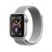 Умные часы Apple Watch Series 4 GPS 44mm Aluminum Case with Seashell Sport Loop MU6C2 (Белая ракушка)