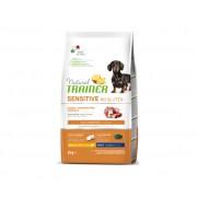 TRAINER Natural Sensitive No Gluten Small & Toy Adult - Anatra & Cereali Integrali 2kg